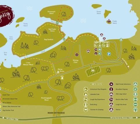 Zipit: Lough Key Visitor Centre & Activity Park