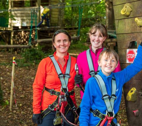 Zipit Forest Adventures: Families & Individuals