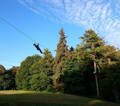 Zipit Forest Adventures location: Farran Park, Co. Cork